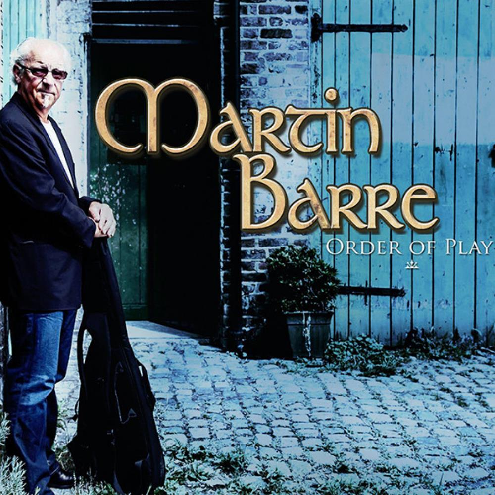 Martin Barre Order Of Play album cover