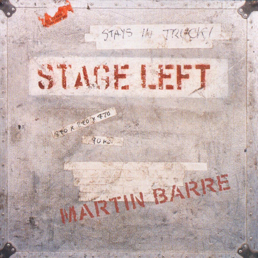 Martin Barre Stage Left album cover