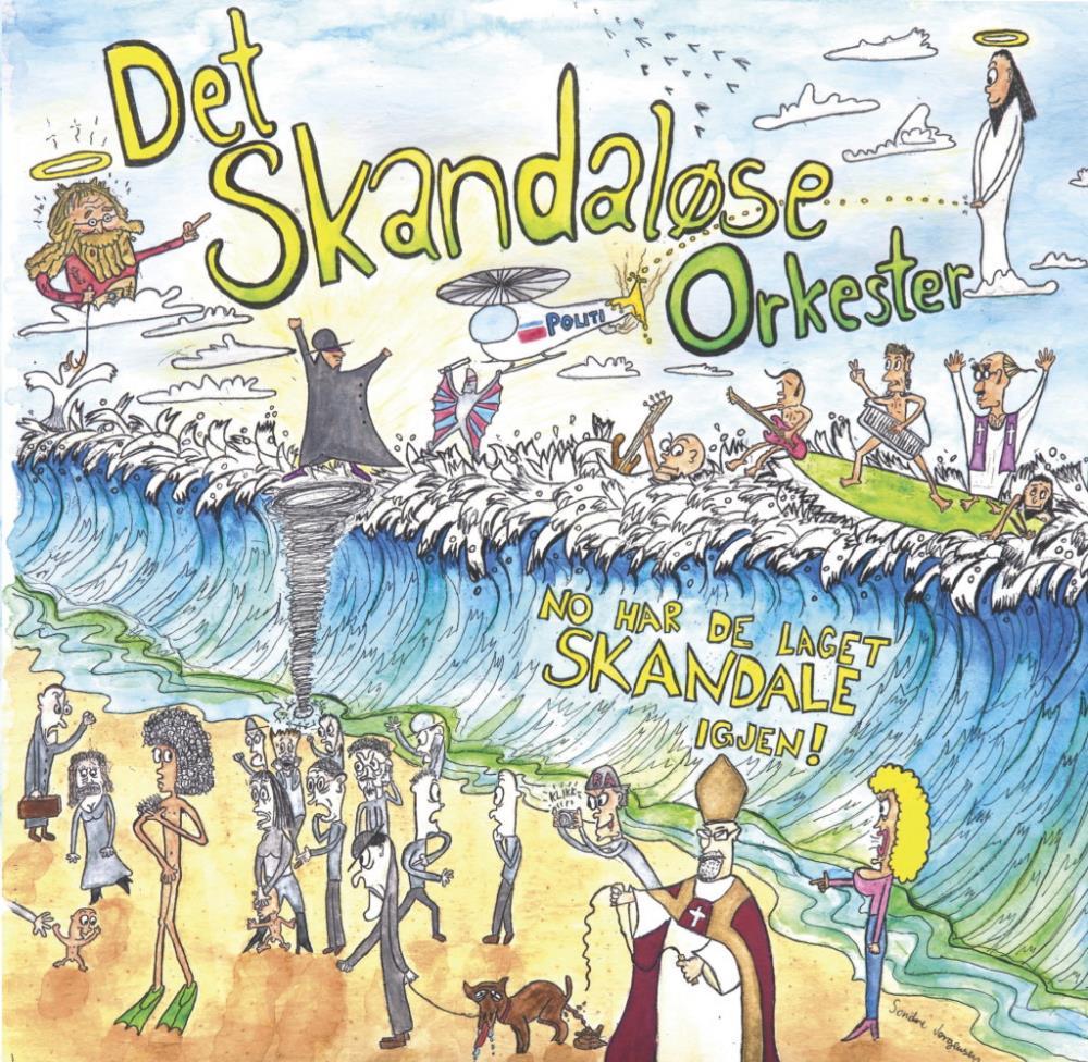 No Har De Laget Skandale Igjen !  by SKANDALØSE ORKESTER, DET album cover