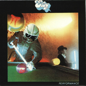 Eloy - Performance CD (album) cover