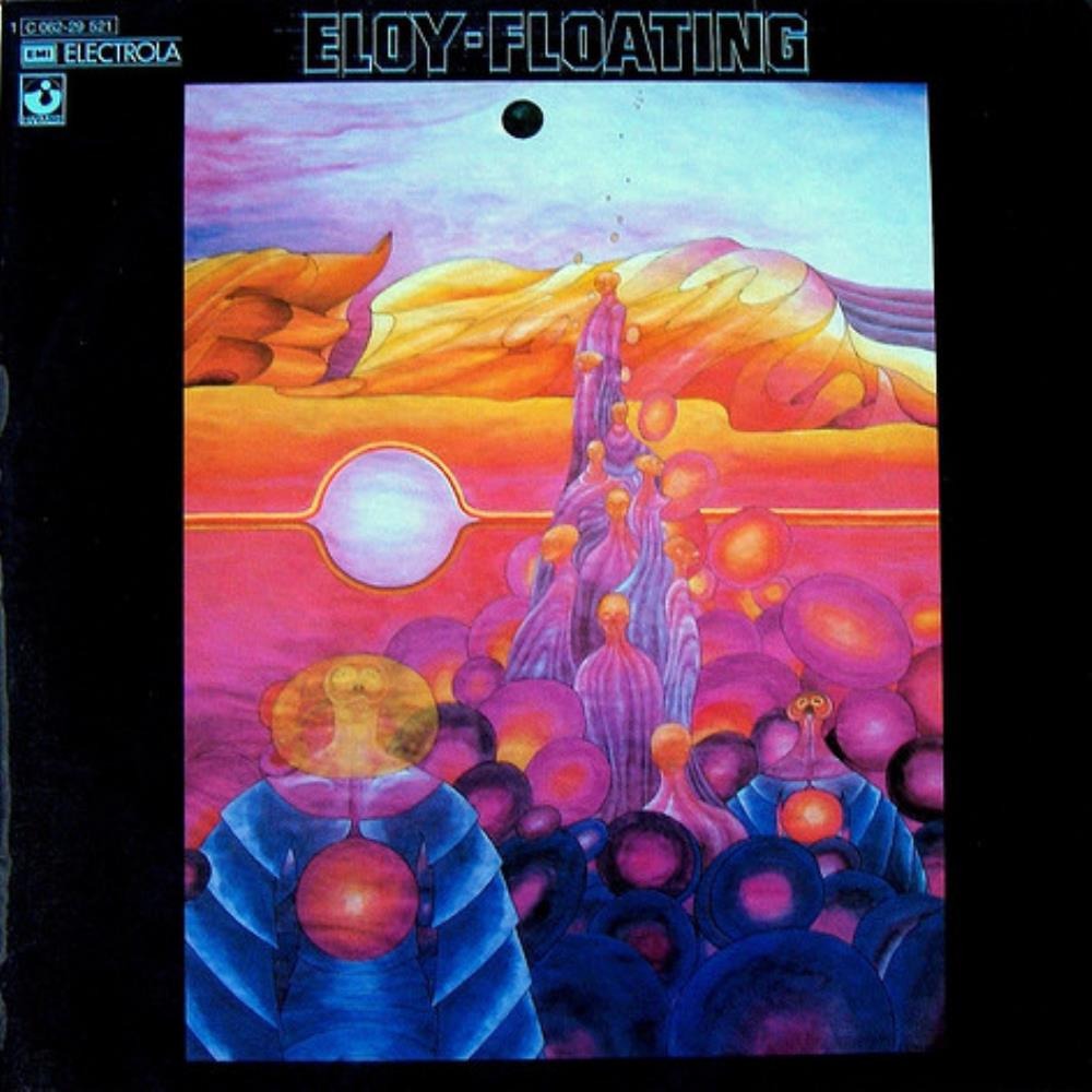 Floating by ELOY album cover