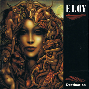 Eloy - Destination CD (album) cover