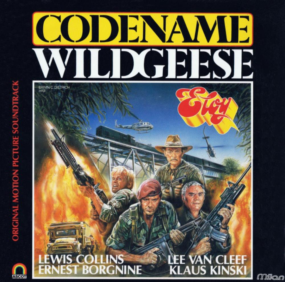 Eloy - Codename Wildgeese (OST) CD (album) cover