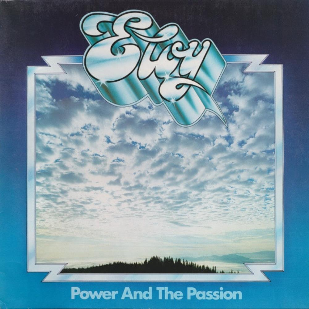 Eloy - Power And The Passion CD (album) cover