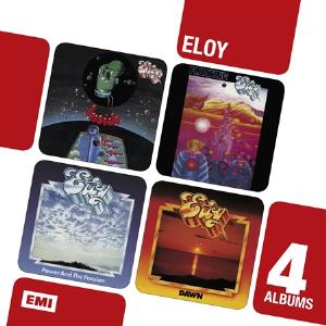 Inside / Floating / Power And The Passion / Dawn by ELOY album cover