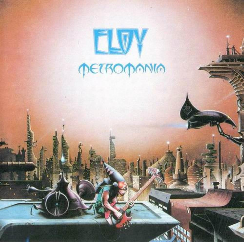 Eloy - Metromania CD (album) cover