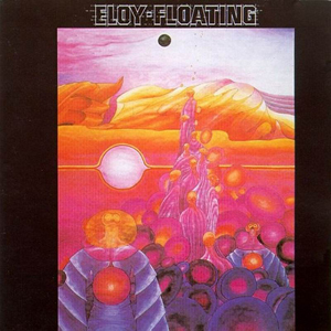 Eloy Floating album cover