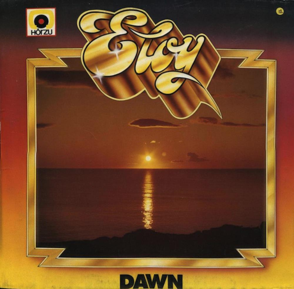 Eloy Dawn album cover