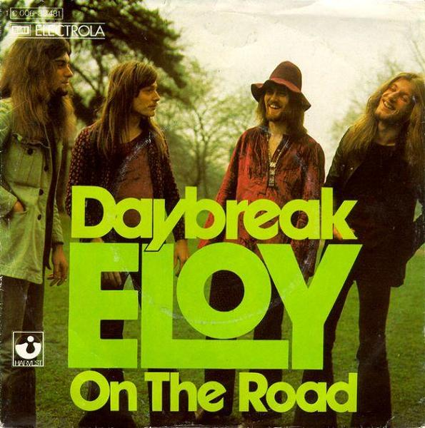 Eloy Daybreak / On the road album cover
