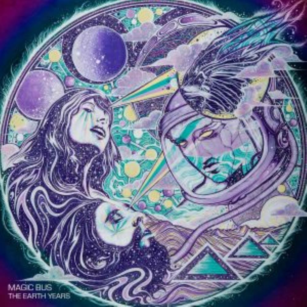 The Earth Years by MAGIC BUS album cover