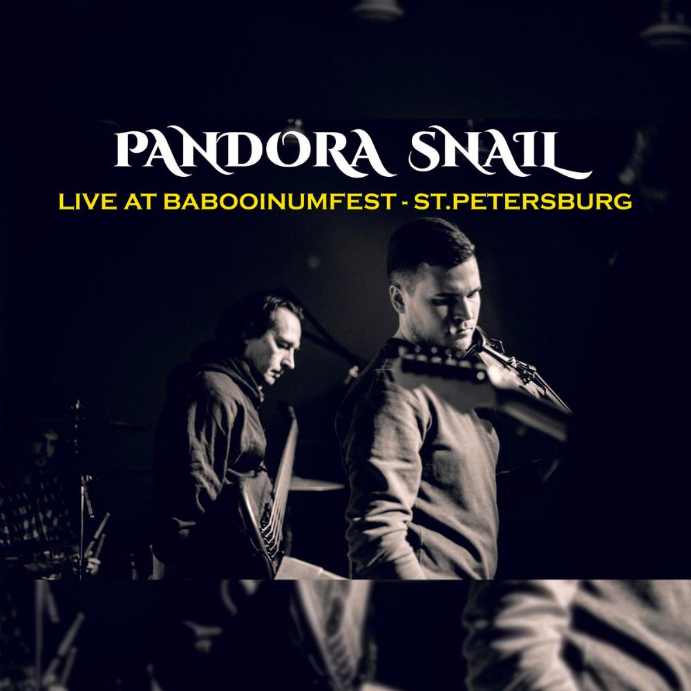 Pandora Snail - Live at Babooinumfest CD (album) cover