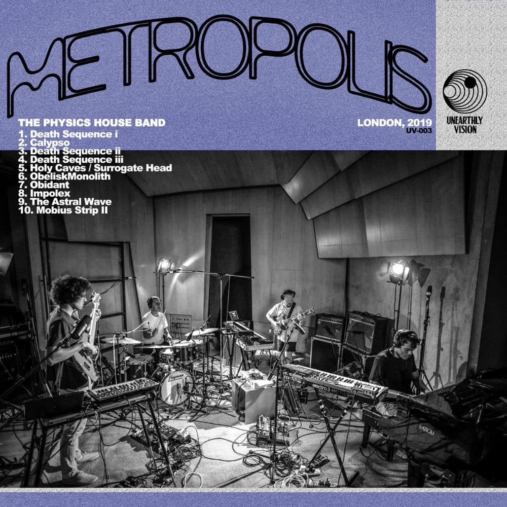 Metropolis by PHYSICS HOUSE BAND, THE album cover