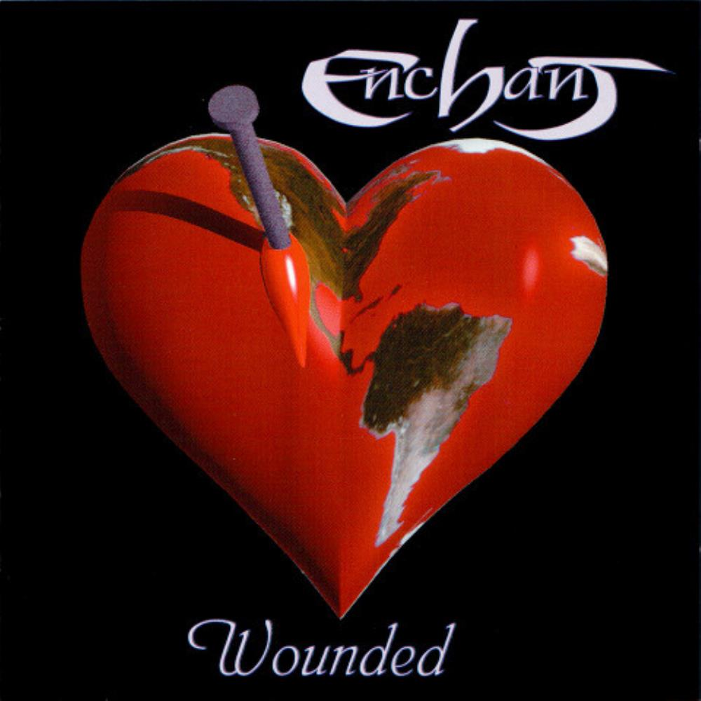 Enchant - Wounded CD (album) cover