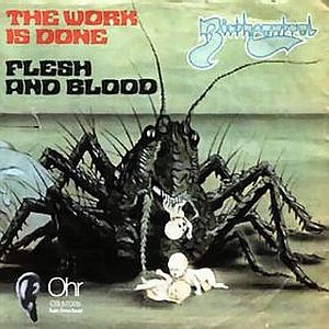 Birth Control The Work Is Done / Flesh And Blood album cover