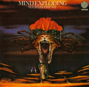 Lucifer's Friend Mind Exploding album cover