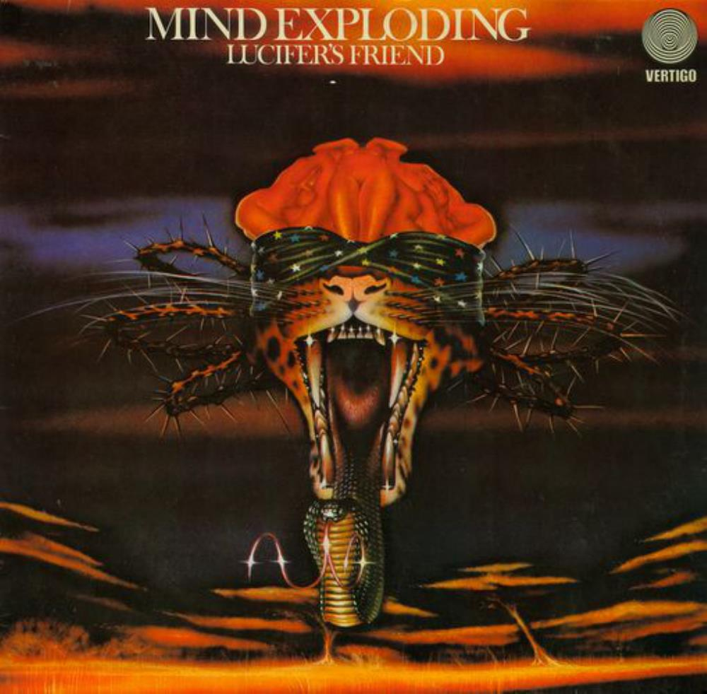 Lucifer's Friend - Mind Exploding CD (album) cover