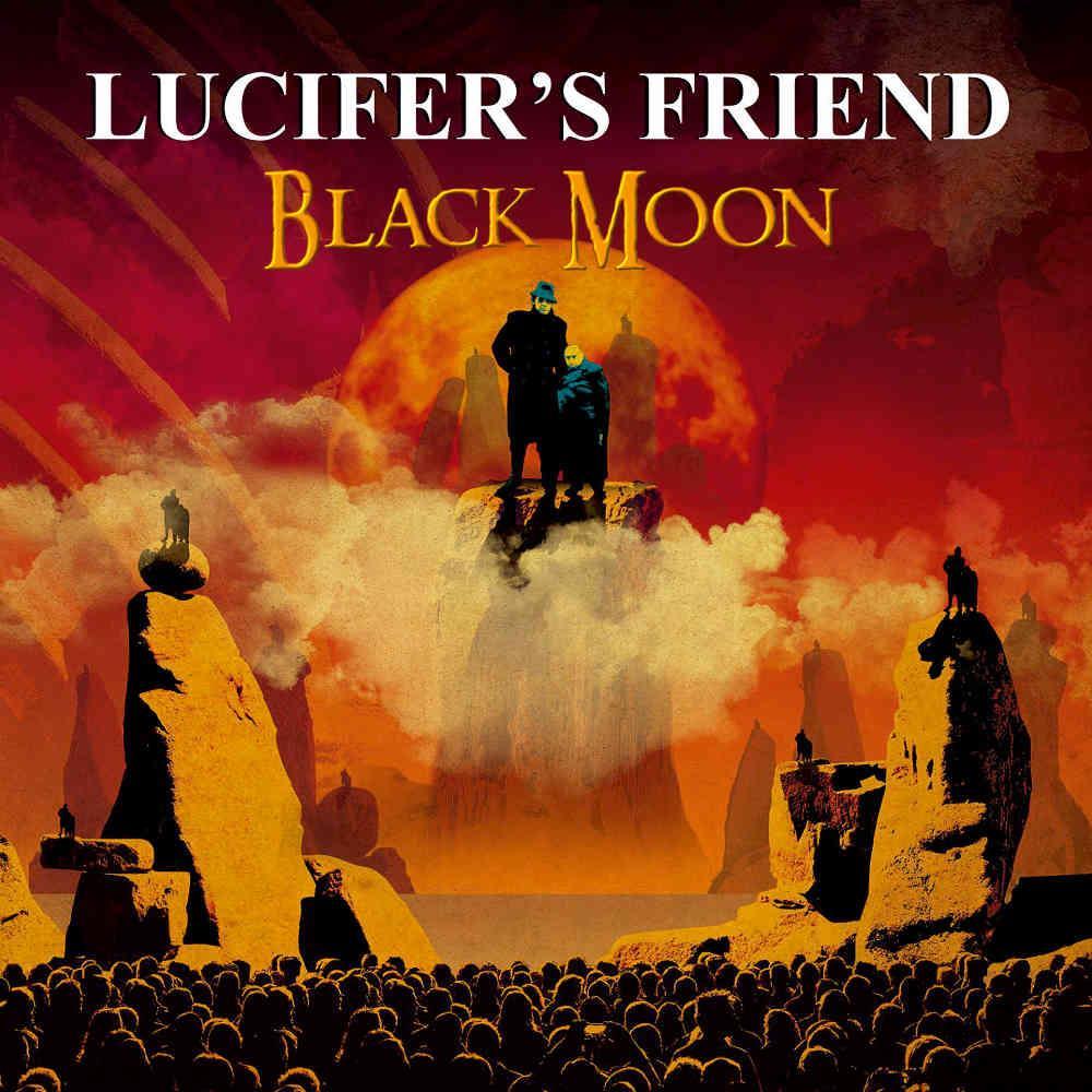 Black Moon by LUCIFER'S FRIEND album cover