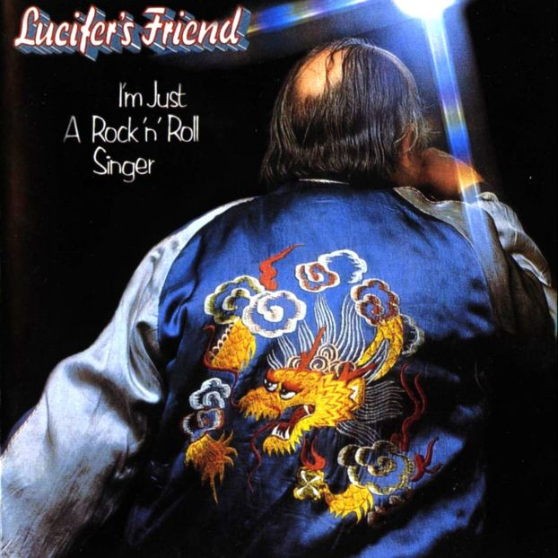 I'm Just A Rock'n'Roll Singer by LUCIFER'S FRIEND album cover