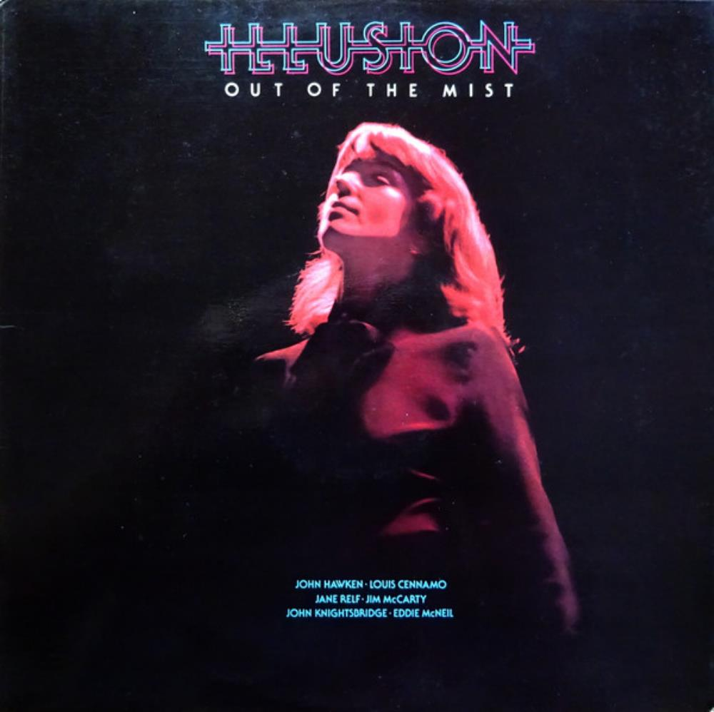 Illusion - Out Of The Mist CD (album) cover