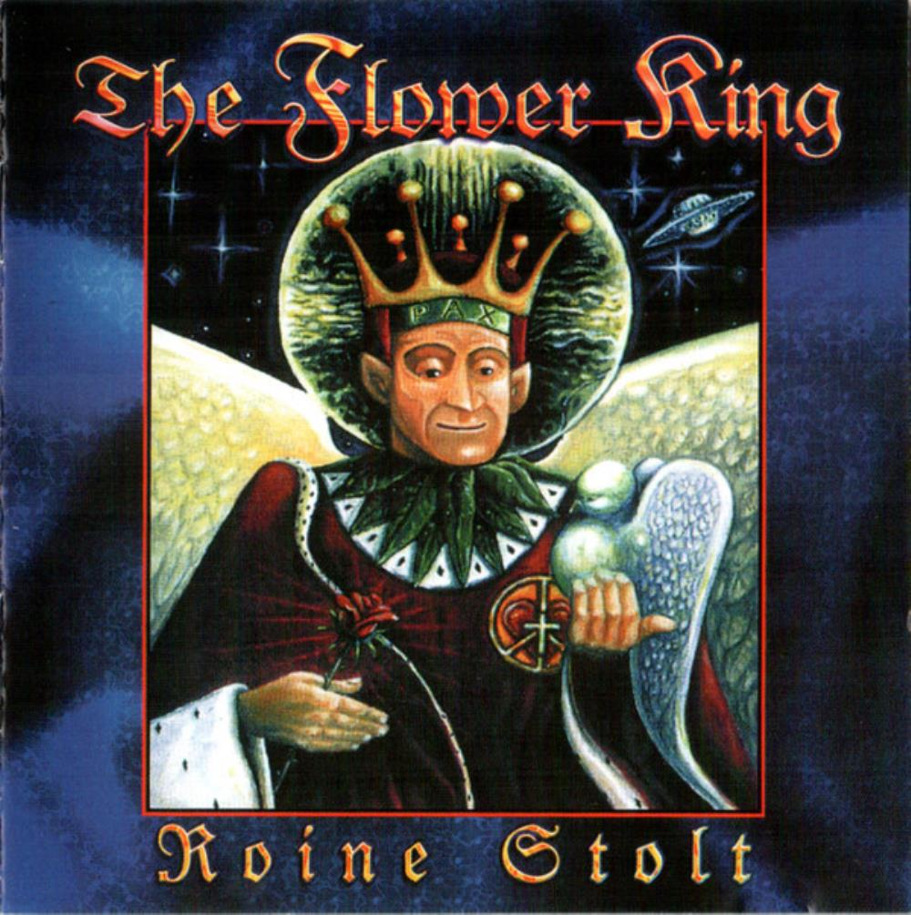 Roine Stolt - The Flower King CD (album) cover