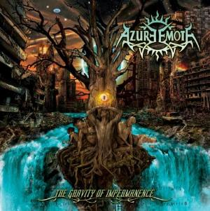 The Gravity Of Impermanence by AZURE EMOTE album cover