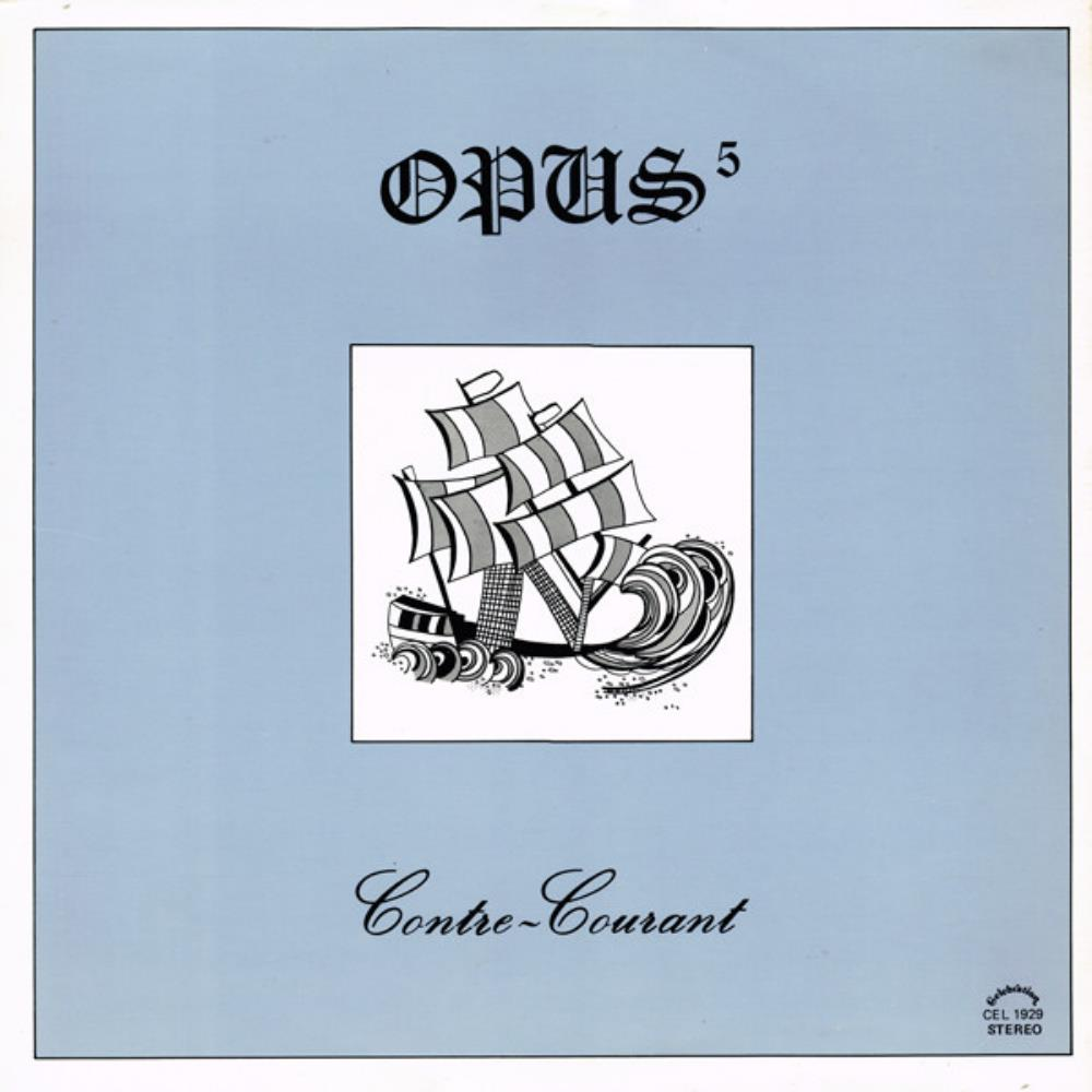 Opus-5 - Contre-Courant CD (album) cover