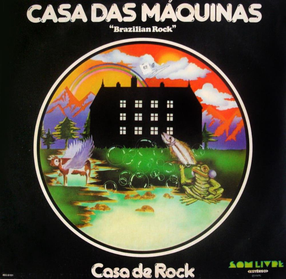 Casa De Rock by CASA DAS MÁQUINAS album cover