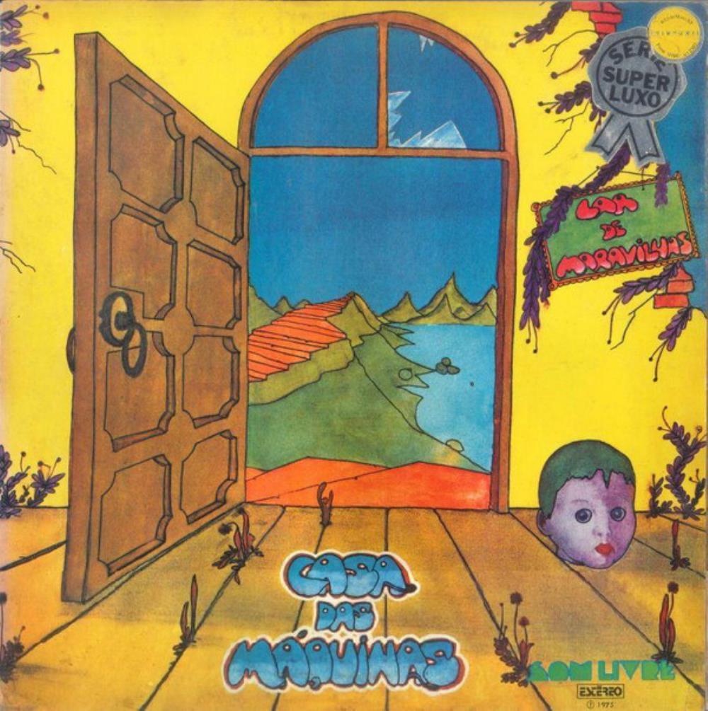 Lar De Maravilhas by CASA DAS MÁQUINAS album cover