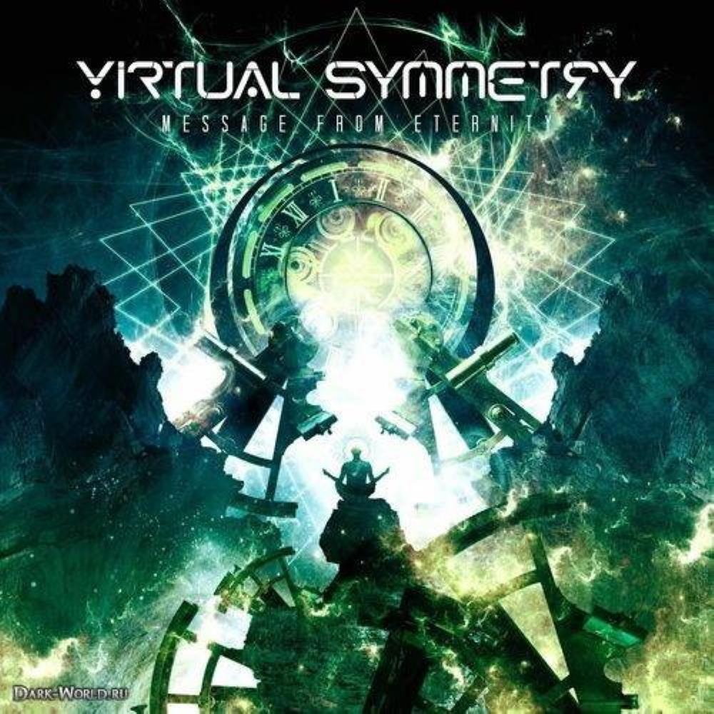 Message From Eternity by VIRTUAL SYMMETRY album cover