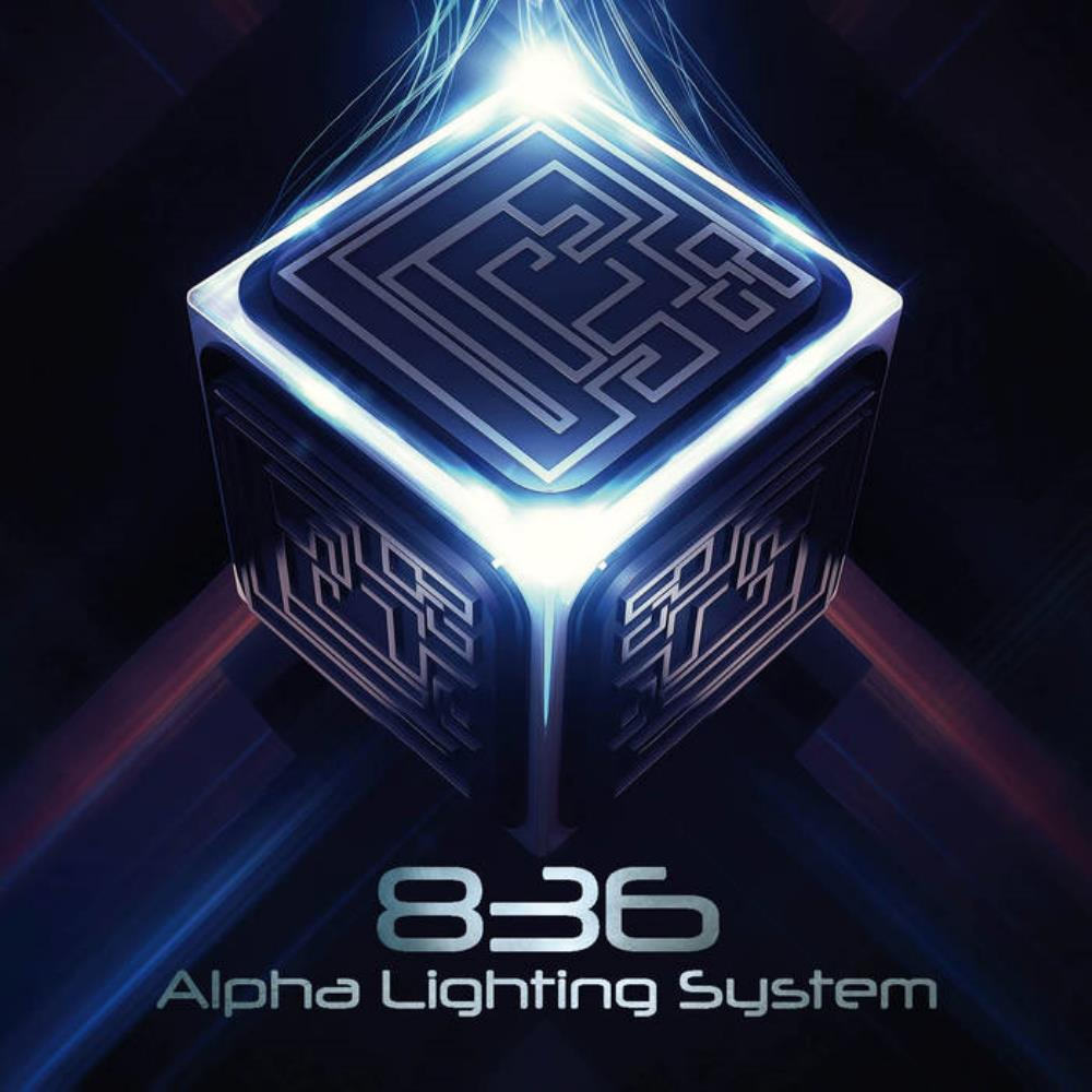 Alpha Lighting System - 836 CD (album) cover