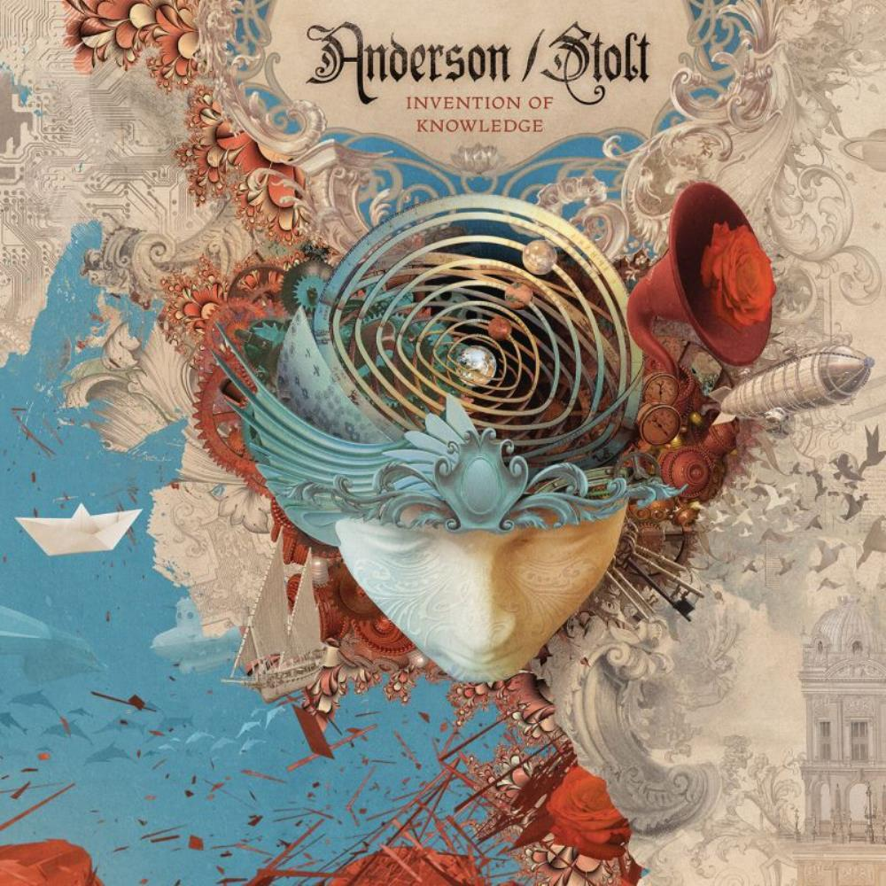 Anderson/Stolt - Invention Of Knowledge CD (album) cover