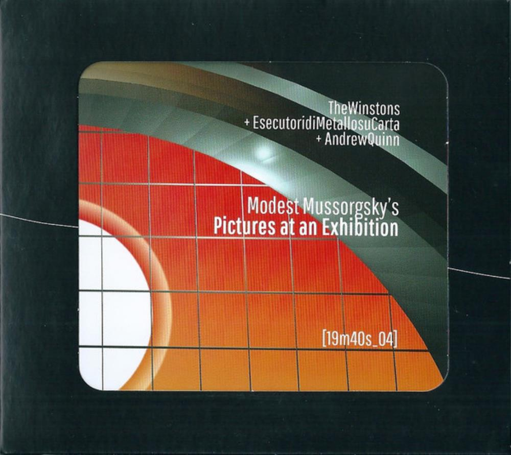 The Winstons - The Winstons  & EdMsC: ‎Pictures At An Exhibition CD (album) cover