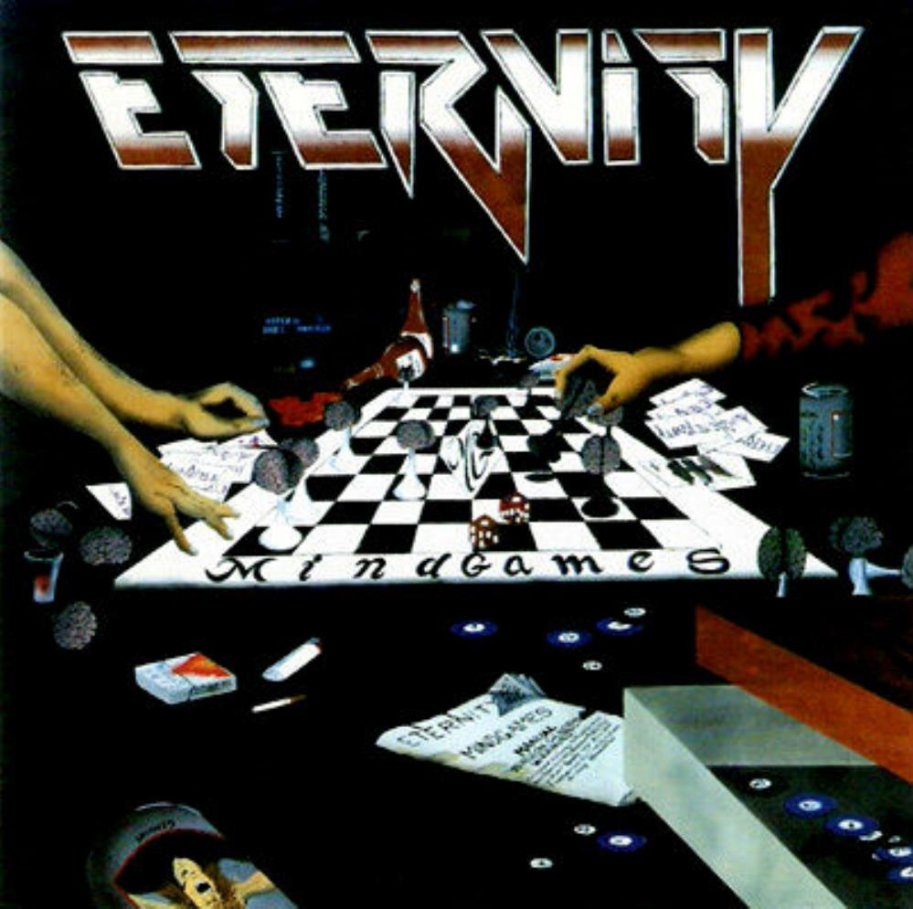 Eternity X - Mind Games CD (album) cover