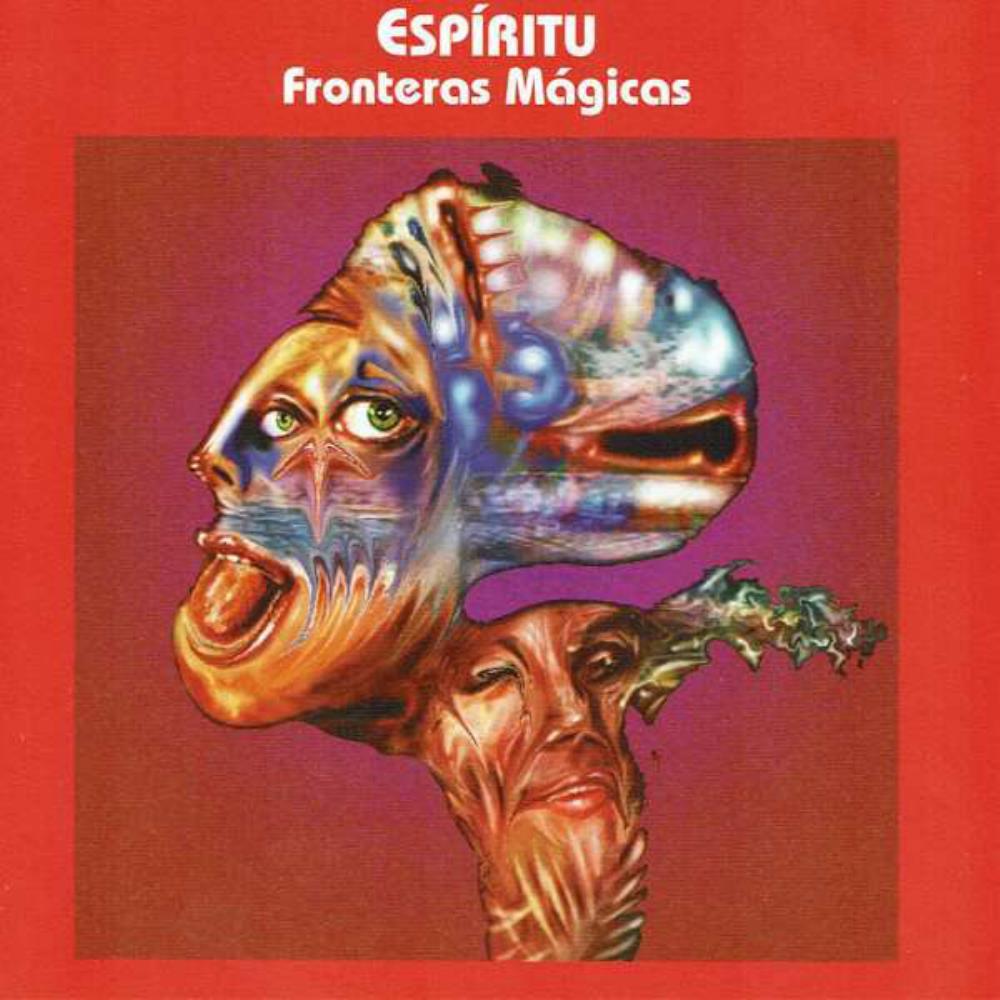 Fronteras Mágicas by ESPÍRITU album cover
