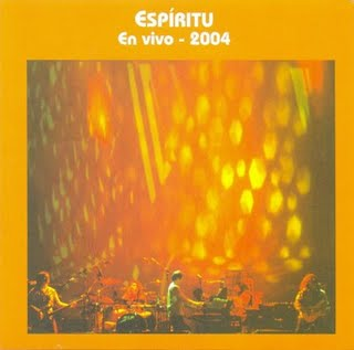 Espiritu En Vivo - 2004 album cover
