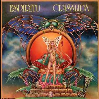 Espiritu - Crisalida CD (album) cover