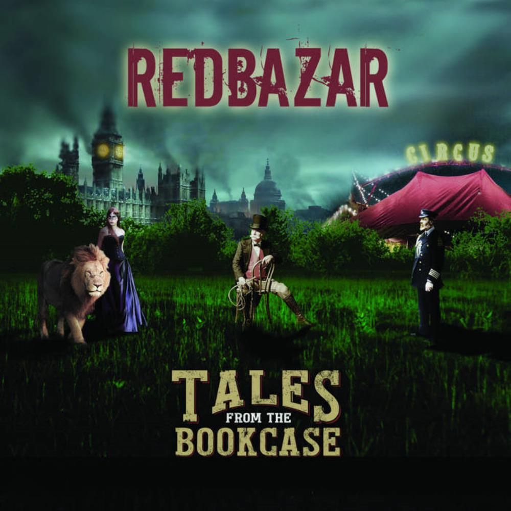 Red Bazar Tales From The Bookcase album cover