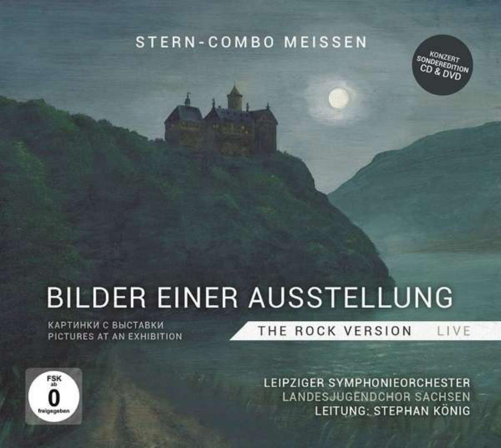 Stern-Combo Meissen (Stern Meissen) Bilder einer Ausstellung (Pictures at an Exhibition) - The Rock Version Live album cover