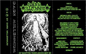 Of Spectre Their Ashes May Be by DARK MILLENNIUM album cover