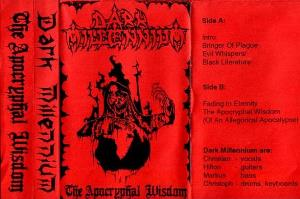 The Apocryphal Wisdom by DARK MILLENNIUM album cover