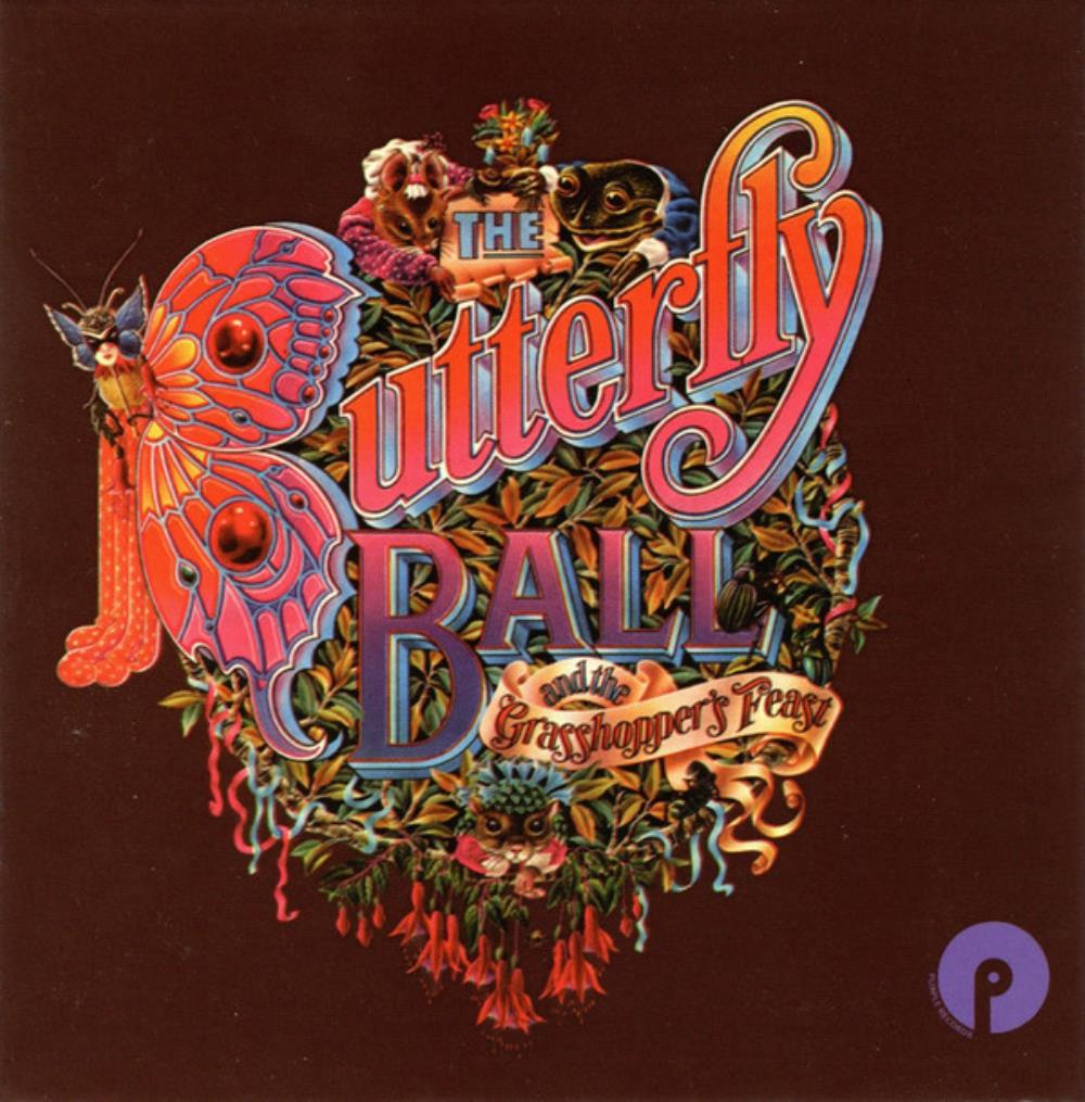 The Butterfly Ball And The Grasshopper's Feast by GLOVER, ROGER album cover
