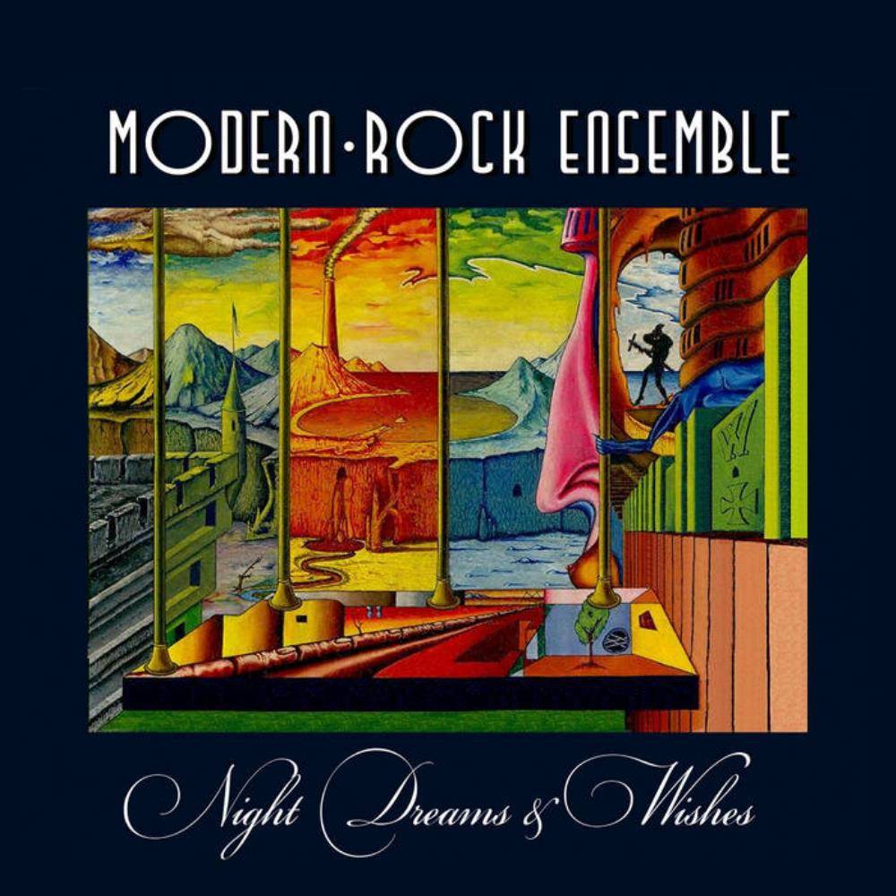 Night Dreams & Wishes by MODERN-ROCK ENSEMBLE album cover