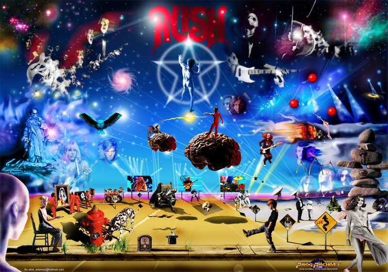 Rush Concert Wallpaper Posted Image